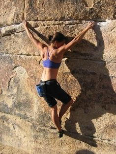 Climb like Naomi: strong, stoked, and all the way in.