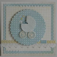 Adorable baby shower card!