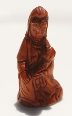 Metaphysical Gifts, Cards, Wrap and Crystals | Life Is A Gift Shop - Hand-Carved Boxwood Ojime Bead, $16.00 (http://lifeisagiftshop.com/hand-carved-boxwood-ojime-bead/)