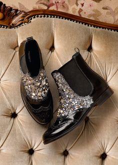 Dolce   Gabbana Accessori Donna Inverno 2016 Stivali Con Zeppa 10a0e1dc323