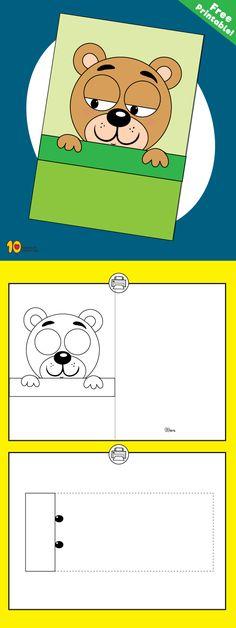 Sleeping Bear - DIY Cool Animation Game for Kids