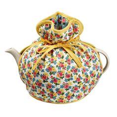 Kitchen Tea Cosy Muff Vintage Cute Floral Design Handle Christmas Gift for sale online Buy Tea, Tea Cozy, Kitchen Linens, Tea Accessories, Tea Party, Floral Design, Sewing Patterns, Christmas Gifts, Teapot