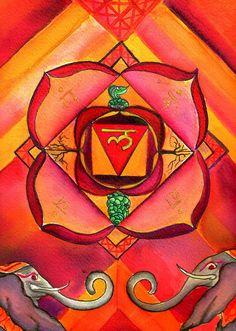 Muladhara chakra by pourmore, #muladhara #root #chakra