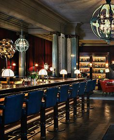 Scarfes Bar at the Rosewood Hotel London - Eat Travel Live