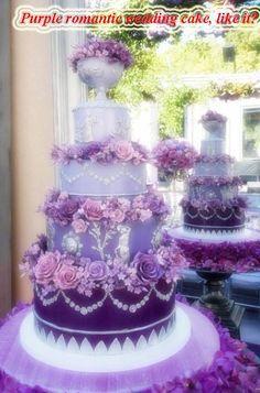 I found my birthday cake! (If this is my birthday cake, then my wedding cake must be tremendous!)