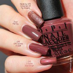 Nail Polish Color Marsala