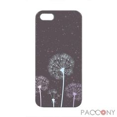 Colored Dandelions Pattern Protective Hard Cases for iPhone 5