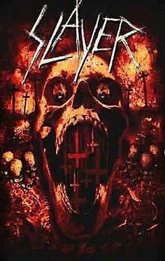 Slayer Seasons In The Abyss Metal Rock T-shirt M L Xl 2xl Nwt ...