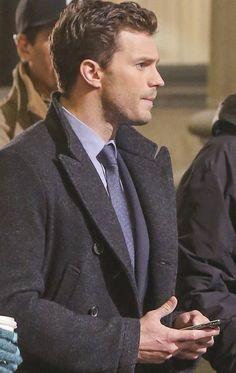 Jamie Dornan as Christian Grey  #ChristianGrey #FiftyShades