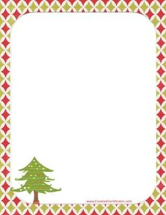 Free Printable and Editable Certificate Border Christmas Boarders, Free Christmas Borders, Free Christmas Printables, Christmas Templates, Templates Printable Free, Free Printables, Page Boarders, Border Templates, Homemade Gifts