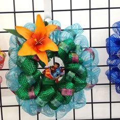 Lilo & Stitch MINI Wreath (Made by Crafting Homie)