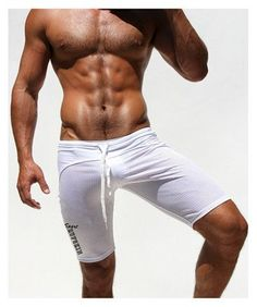 Athletic Men's Sport Tight Shorts Summer Fitted Gym Men Workout Skinny Running Yoga Fight Short