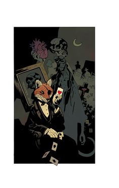 TR!CKSTER 2012  by Mike Mignola (colors by Dave Stewart)