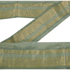 And Children Women Sanskriti Vintage Sari Border Indian Craft Green Trim Hand Beaded Sewing Lace Suitable For Men