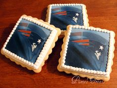 New England Patriots Cookies