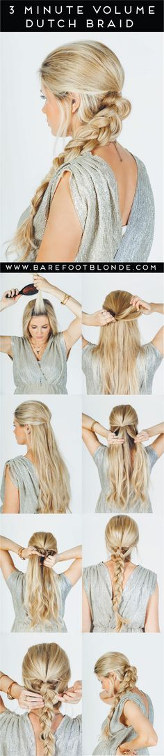 Volume Dutch braid