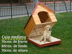 Resultado de imagen para como hacer una casa de perro de madera paso a paso
