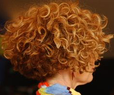 curly hair www.christinacurls,com www.haarmonystudios.com Awesome Deva Cut and Color!