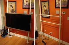 The Easy Floating IKEA Stolmen HDTV Stand