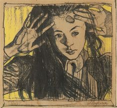 Stanisław Wyspiański, Wnętrze (Dziewczynka za oknem) | 1899, fot.: pinakoteka.zascianek.pl