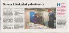 Juttu Pudasjärven vastaanoton Change Day -tapahtumasta Iijokiseutu-lehdessä 4.11.2015