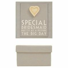 Bridesmaids gift box