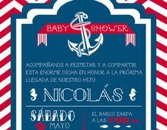 Diseños para Babyshower Nicolás