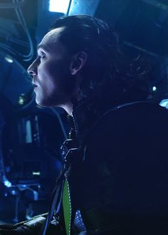 "Your Daily Loki   ""Scared of a little lightning?"" ""I'm not overly fond of what follows."""