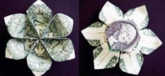 How to Make a Three Dollar Origami Flower