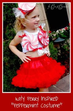 Katy Perry Video Inspired PEPPERMINT  costume by CECEandCAYCAKES, $23.00