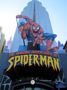 Universal Studios Orlando: Islands of Adventure- The Amazing Spider-Man! With Mike, Darby, Randy and Cortney Orlando Florida, Orlando Theme Parks, Orlando Resorts, Orlando 2017, Orlando Usa, Universal Orlando, Disney Universal Studios, Universal Studios Florida, Universal Resort