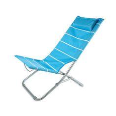 Silla de playa con almohada Rimini. brindes promocionais