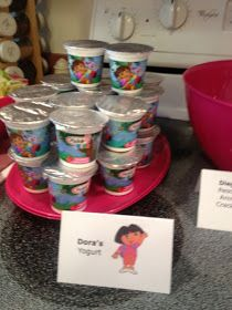 Dora the Explorer Birthday Party- THE FOOD