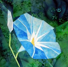 silver linings quilting pattern morning glory