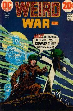 #dc #dccomics #weirdwartales #comicbooks #covers #superheroes #comicwhisperer #comiccovers