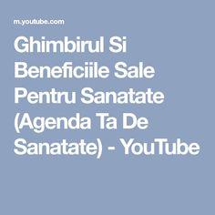 Ghimbirul Si Beneficiile Sale Pentru Sanatate (Agenda Ta De Sanatate) - YouTube Youtube, Cholesterol, Youtubers, Youtube Movies