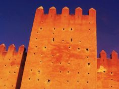 This is the ancient wall in Rabat where U2 shot their Mysterious Way video from Achtung Baby album