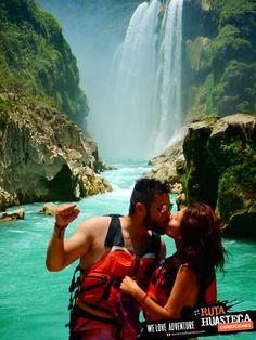 Si vienes a la Huasteca Potosina, no puedes dejar de visitar la Cascada de Tamul.