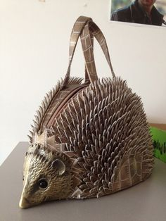 Hedgehog Handbag #leather #bags