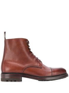 Berwick Shoes Marron Boots In Brown Brown Leather Boots, Brown Boots, Berwick Shoes, Combat Boots, Women Wear, Lace Up, Mens Fashion, Fashion Design, Shopping