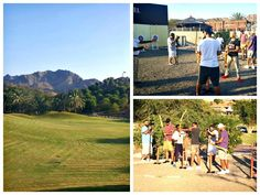 """UAE's best DJs enjoyed a """"Boys Day Out"""" at #HattaFortHotel in November 2015 with DJ Bliss, Mr Shef Codes, DJ Stutter, DJ Kaboo & DJ Keza enjoying an action-packed day of archery, shooting & mini-golf…we can tell you that the battle was on & there were plenty of laughs! #DJBlissDubai #EscapeToHatta"""