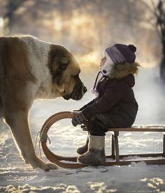 *Sledding (by Elena Shumilova)