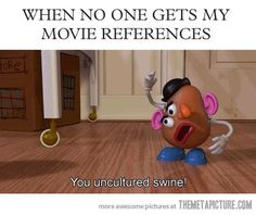 When no one gets my references…
