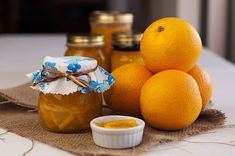 Made in the Thermomix, this delicious orange marmalade can be in the jars from start to finish in under an hour. Easy and delicious - perfect on toast! Marmalade, Vegan Gluten Free, Preserves, Toast, Jar, Orange, Fruit, How To Make, Food
