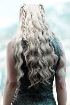 Daenerys Targaryen - I don't watch Game of Thrones at all, but -- that hair.