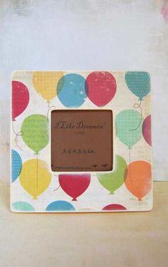 You Say Its Your Birthday - Picture  Frame. $17.00, via Etsy.