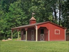 See our 12 x 36 Shed Row w/ Lean-To. For more quality products, visit Penn Dutch Structures today! Horse Shed, Horse Barn Plans, Horse Stalls, Stables For Sale, Simple Horse Barns, Shed Floor Plans, Garage Plans, House Plans, Horse Shelter