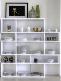 Temahome London Medium Shelf in Several Frame and Back Panel Combinations image 4