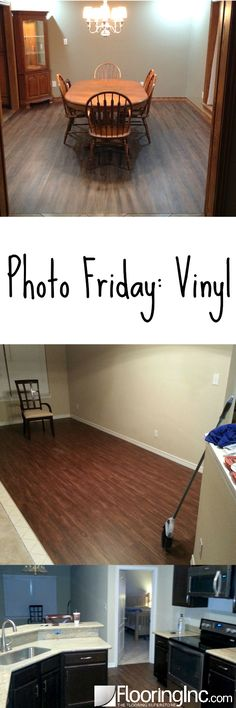 Welcome to Photo Friday, where we show our real-life customer photos & stories. See beyond the product photos into how our products look in every day homes. Basement Flooring, Diy Flooring, Flooring Ideas, Vinyl Flooring Installation, Plank, Cool Photos, Tiles, Friday, Business