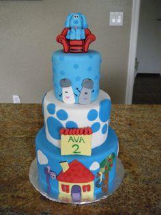 blues clues cakes   Cassy's Cakes: Blues Clues Cake